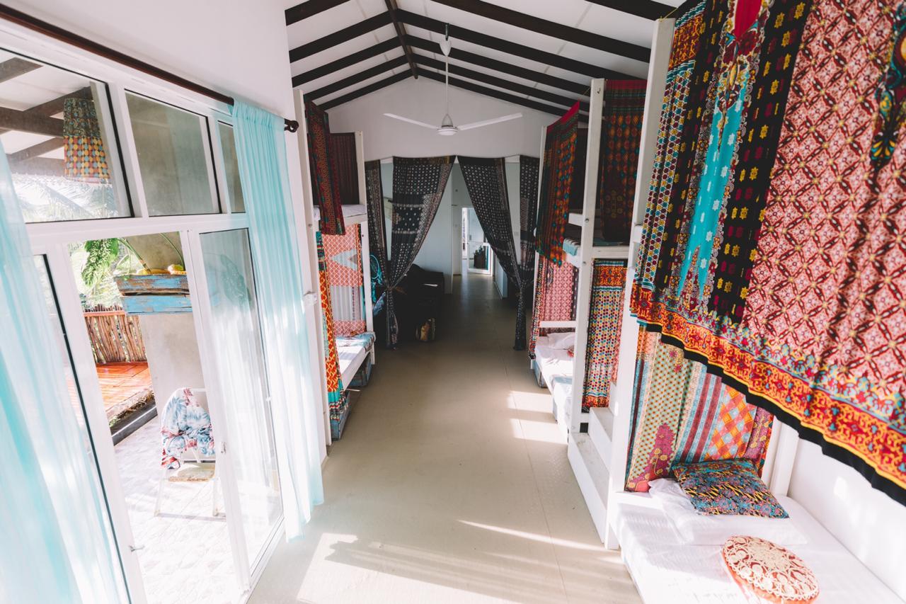 lanka living surf camp dorm